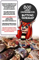 Facebook 800 Likes button giveaway! by tikopets