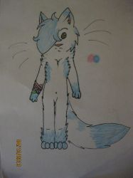 RS- Traditional Anthro Chibi Starlight by PaintedDoq