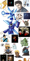 Mother of all iScribble dumps by AnimeVSReality