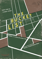 The Bucket List film poster by metkich