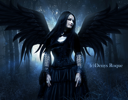 Miss Raven II by DenysDigitalArtwork