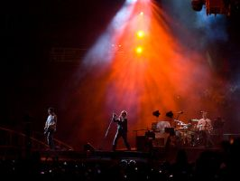 U2 on stage by gzib