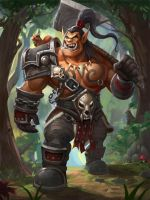 Grom Hellscream by BOOM8293