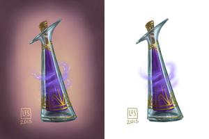 Small Items_potion vial 2 by BlackBirdInk