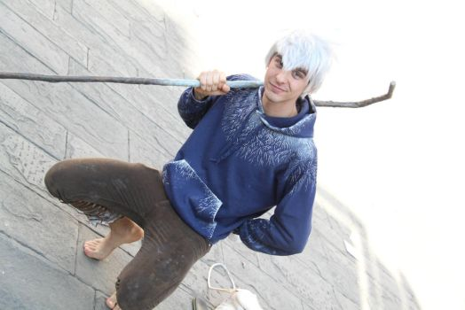 Jack Frost cosplay ~ we're gonna have a little fun by LuXoN94