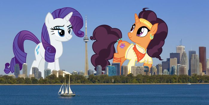 Toronto visit by TheOtterPony