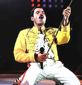 freddie Mercury by petnick