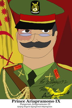 A Princely Potrait, Joint work by lordelpresidente