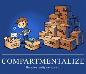 Compartmentalizing-tee by InfinityWave