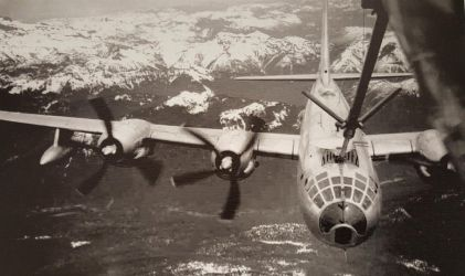 B-50 Superfortress Refueling by AviatorAndy