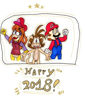 Have a wonderful new year! by Aso-Designer
