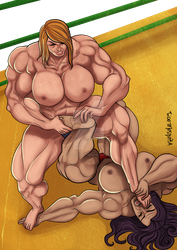 [C] Wrestling Match 11 by roemesquita