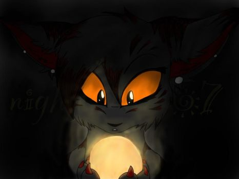 A light in the darkness by Soft--Cookie