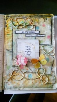 Art Journal Page by polina1233