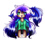Chibi Blue (2) by CosmoticLink