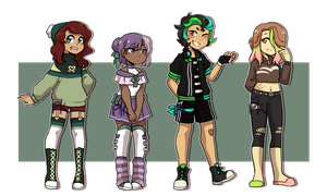 [CLOSED] Casual Off Base Kids by PK-adopts