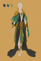 CLOSED Fashion adoptable ~ Jungle elf by ayleidian
