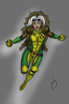 Rogue speed drawing by SimonPothier