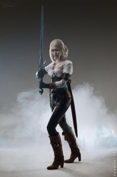The Witcher: Wild Hunt - Ciri cosplay by ver1sa