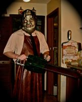 Leatherface custom costume by Rising-Darkness-Cos