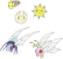 Fakemon Bugs by Jenicole