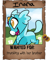 Wanted: Inana by Frozen--Star