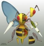Beedrill Anatomy by Christopher-Stoll