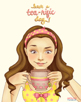 Tea by kimpertinent