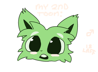 Gizmo, obvious cousin of Flying Mint Bunny by ZigtheZag