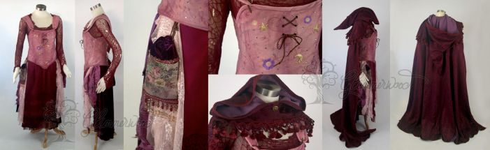 Hocus Pocus Sarah Sanderson Cosplay Outfit by glimmerwood