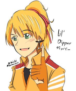 Lil Dipper in Human version by airbus2006