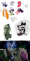 Some doodles that i had fun with by FallenAngel5414