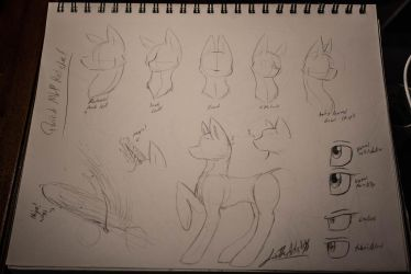 Sketchbook Sketches: Quick MLP ref by LizTheArtist