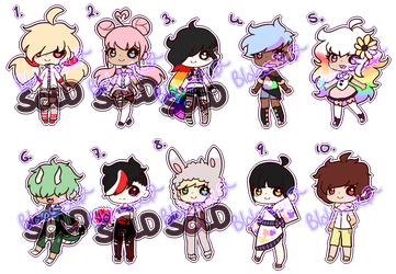 1/10 OPEN| 100pts Set Price Human Adopts by Rikos-Adopts