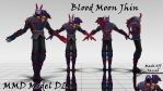Jhin Blood Moon MMD Model DL by KadajoGameOver