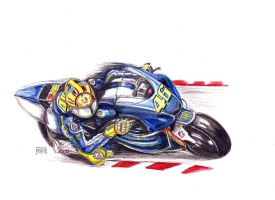 Valentino Rossi by Xpendable