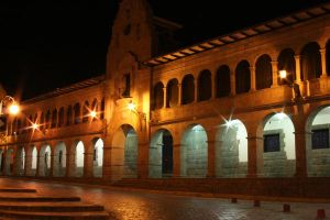 Cusco Arches by Night by StewartSteve