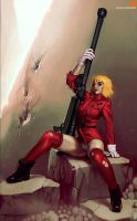 Patrons request Seras Victoria from Hellsing by psyk323