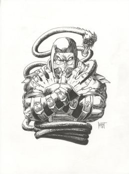 Scorpion 9x12 Commission by KenHunt