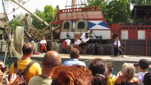 pirates show at gardaland by solstiziodinverno