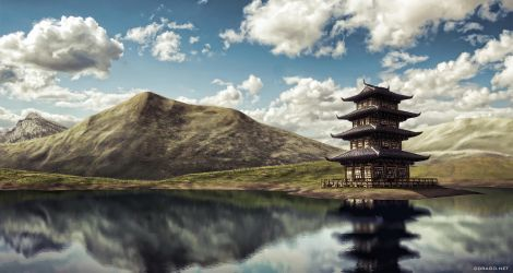 matte painting 2 by DDrAgO