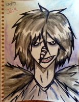 Laughing Jack Watercolor by OurMotherJenova