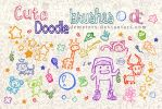 Cute Doodle brushes by demeters