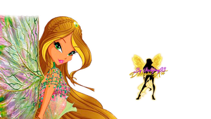 World of Winx Flora Dreamix Couture - PNG by Gallifrey93