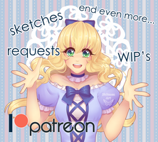 Welcome to my Patreon~ by Shiimosa
