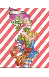 Candy Cane Elf by PinkPigtails