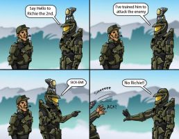 Master Chief's Pet 2 by Swashbookler