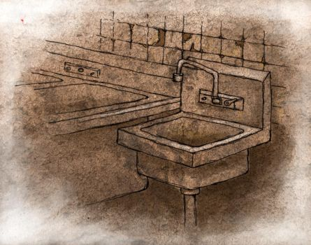 Dirty Sink by moonmaster