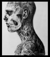 Zombie Boy by uruhart