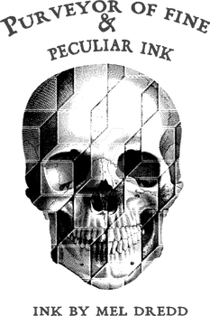 Skull 3d Tshirt Black by shadowkult
